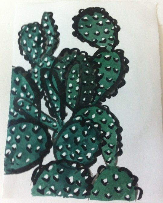paul rand cactus by kate austin 2014