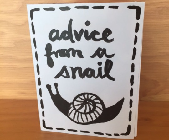 advice from a snail